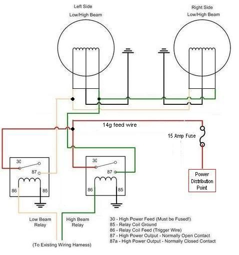 on 02 ford wiring diagrams headlight high beam