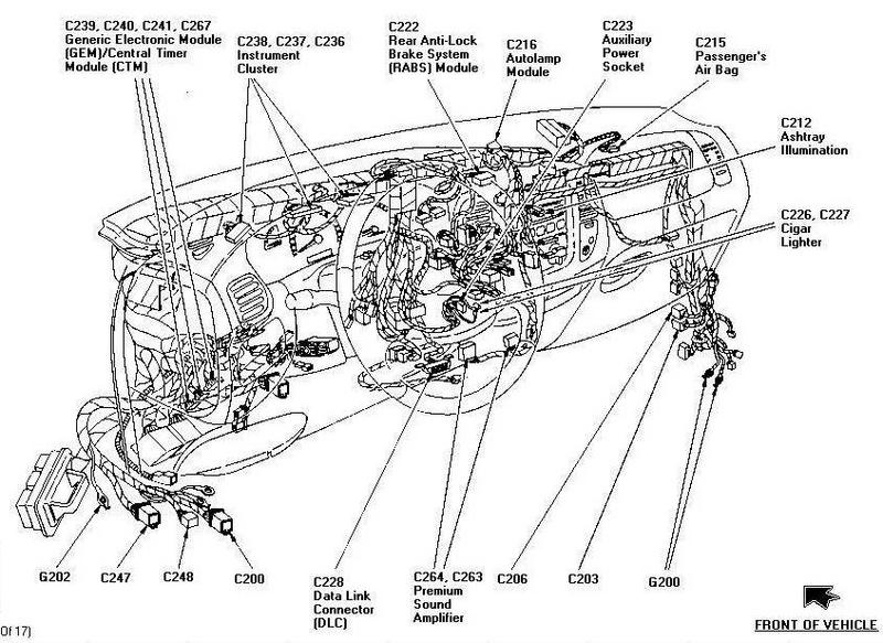 2000 F150 Power Window Wiring Diagram - Wiring Circuit •