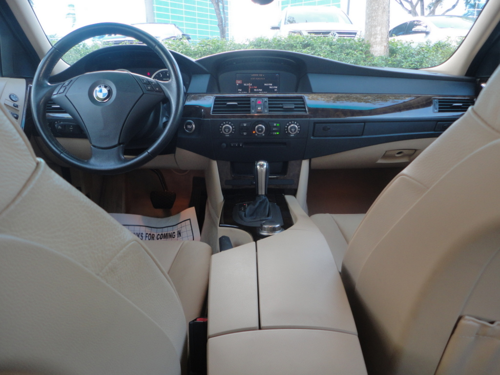 2007 Bmw 5 Series Interior Pictures Cargurus