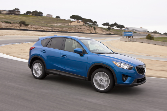 2014 Mazda CX-5, Front-quarter view, exterior, manufacturer, gallery_worthy