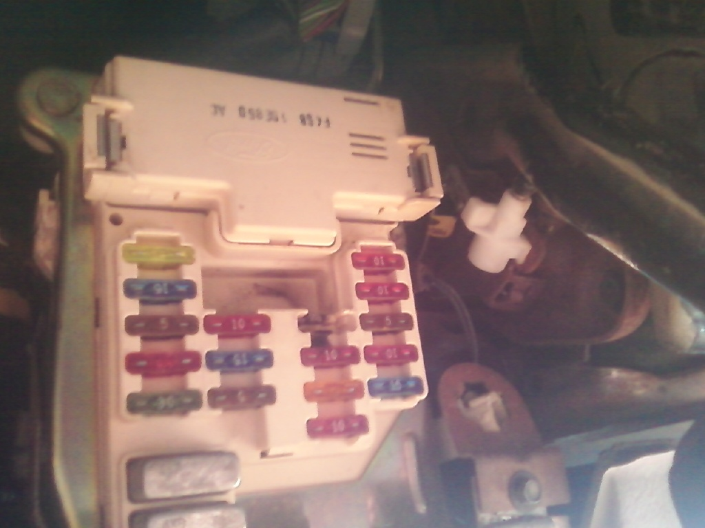 1995 Mazda 929 Fuse Box Diagram