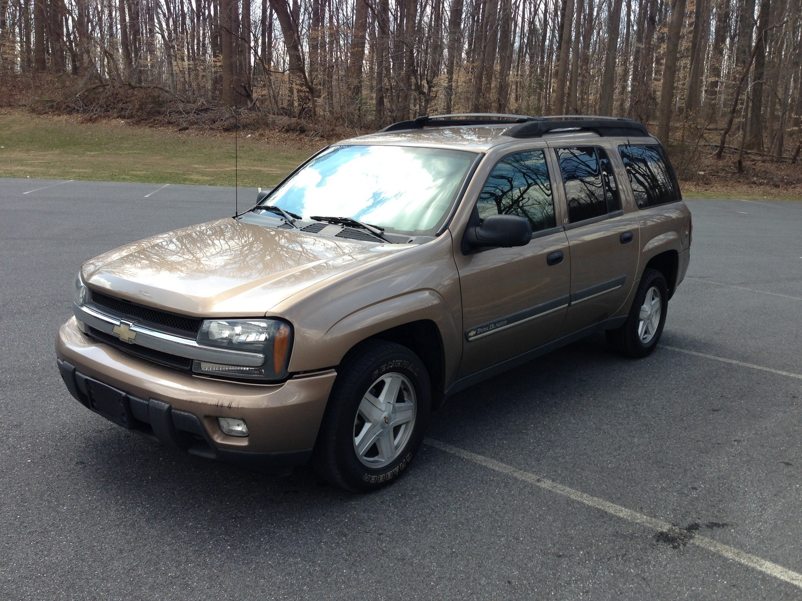 picture of 2002 chevrolet trailblazer lt 4wd exterior. Cars Review. Best American Auto & Cars Review