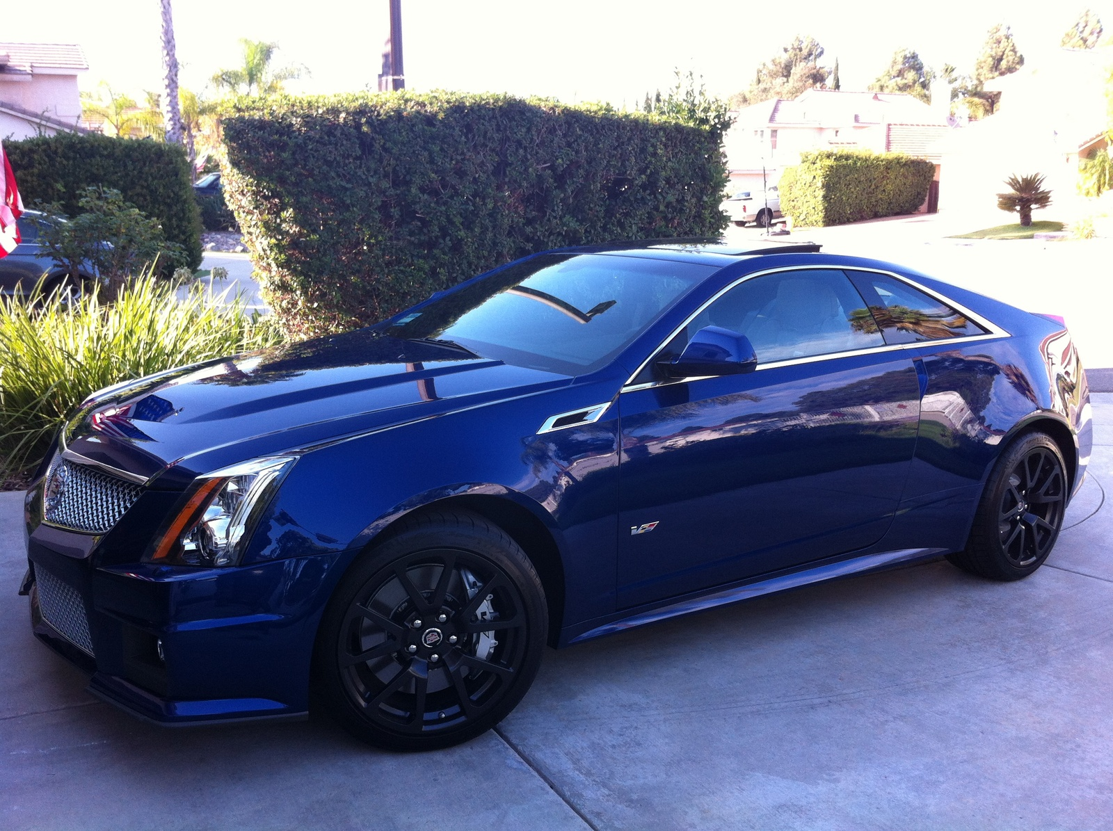 picture of 2013 cadillac cts v coupe base exterior. Cars Review. Best American Auto & Cars Review