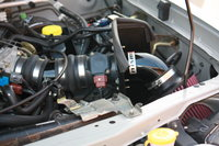 Picture of 2002 Nissan Frontier 4 Dr SC Supercharged Crew Cab SB, engine