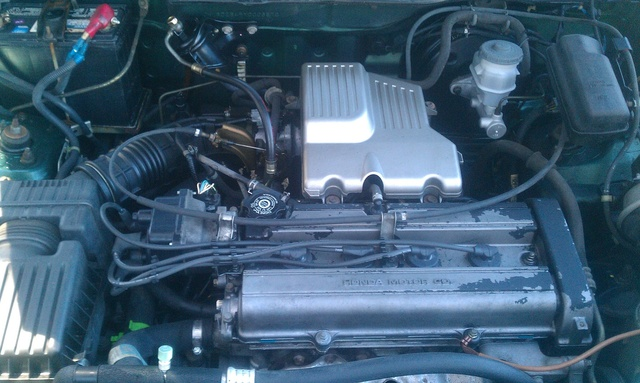 Picture of 2000 Honda CR-V LX AWD, engine