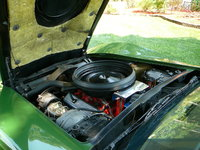 Picture of 1973 Chevrolet Corvette Coupe, engine