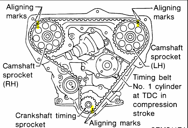 Cylinder head replacement 2167 additionally 2008 Ford Crown Victoria Serpentine Belt Diagram likewise 2003 moreover 2007 Lexus Es 350 Engine Diagram as well 2002 Ford Mustang Serpentine Belt Diagram. on timing belt