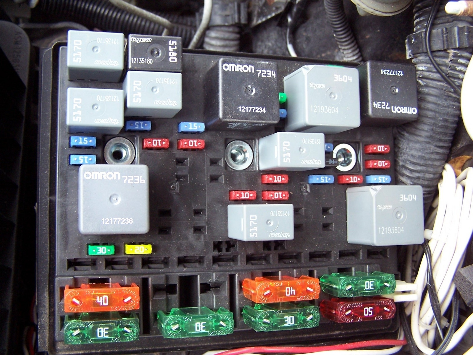 Grand am fuse box wiring diagram images