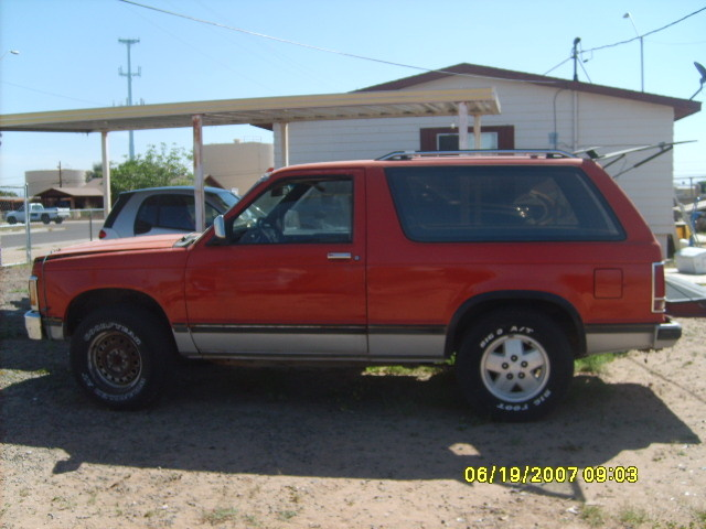 Picture of 1984 Chevrolet S-10 Blazer STD 4WD, exterior