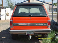 1984 Chevrolet S-10, BACK OF CAR, exterior