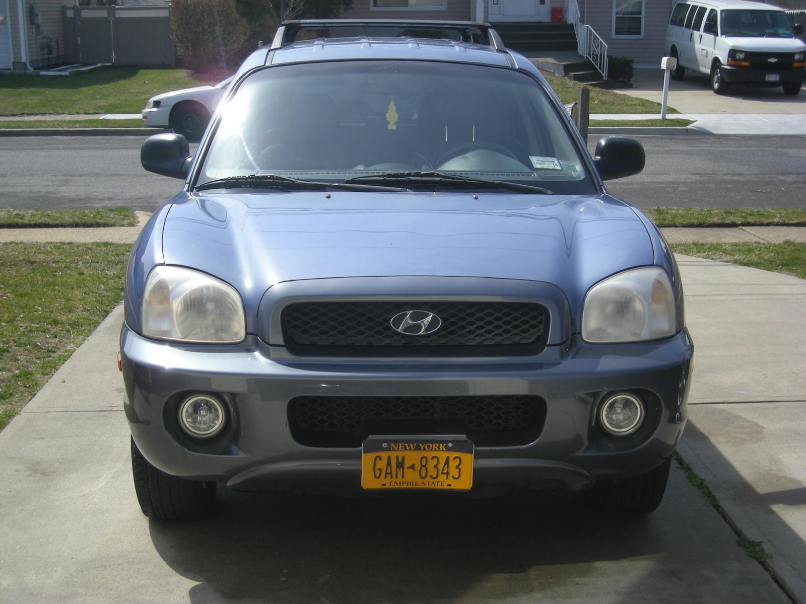 Pics photos 2002 hyundai santa fe gls markham ontario used car for
