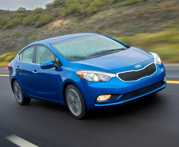 2014 Kia Forte, Front-quarter view, exterior, manufacturer, gallery_worthy