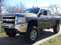 Picture of 2009 Chevrolet Silverado 2500HD Work Truck Extended Cab 4WD, exterior, gallery_worthy