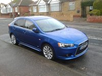 2010 Mitsubishi Lancer Sportback, octane blue gs3, exterior, gallery_worthy