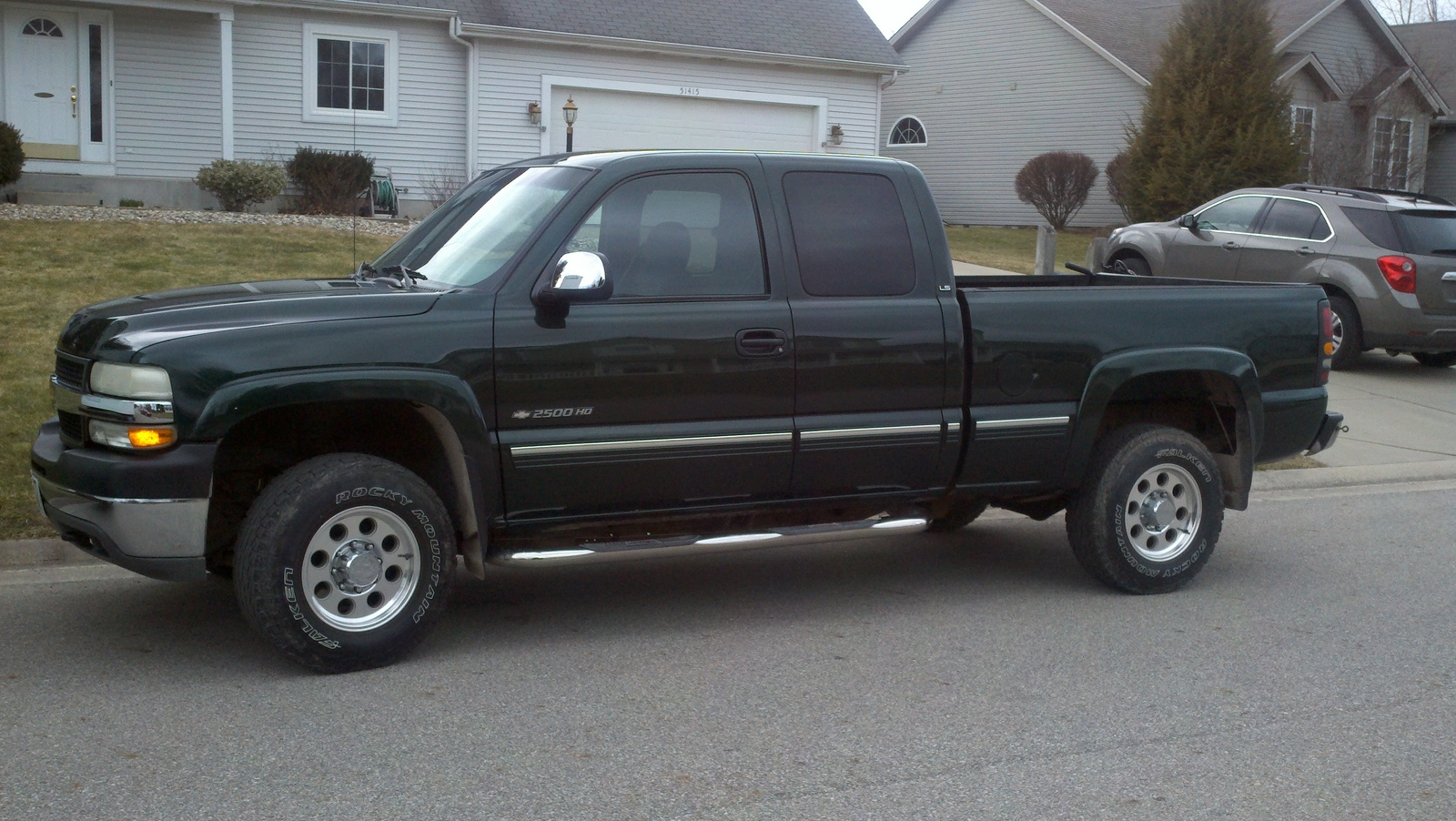 2008 Chevy Malibu Used Picture of 2001 Chevrolet Silverado 2500HD LT Extended Cab 4WD ...