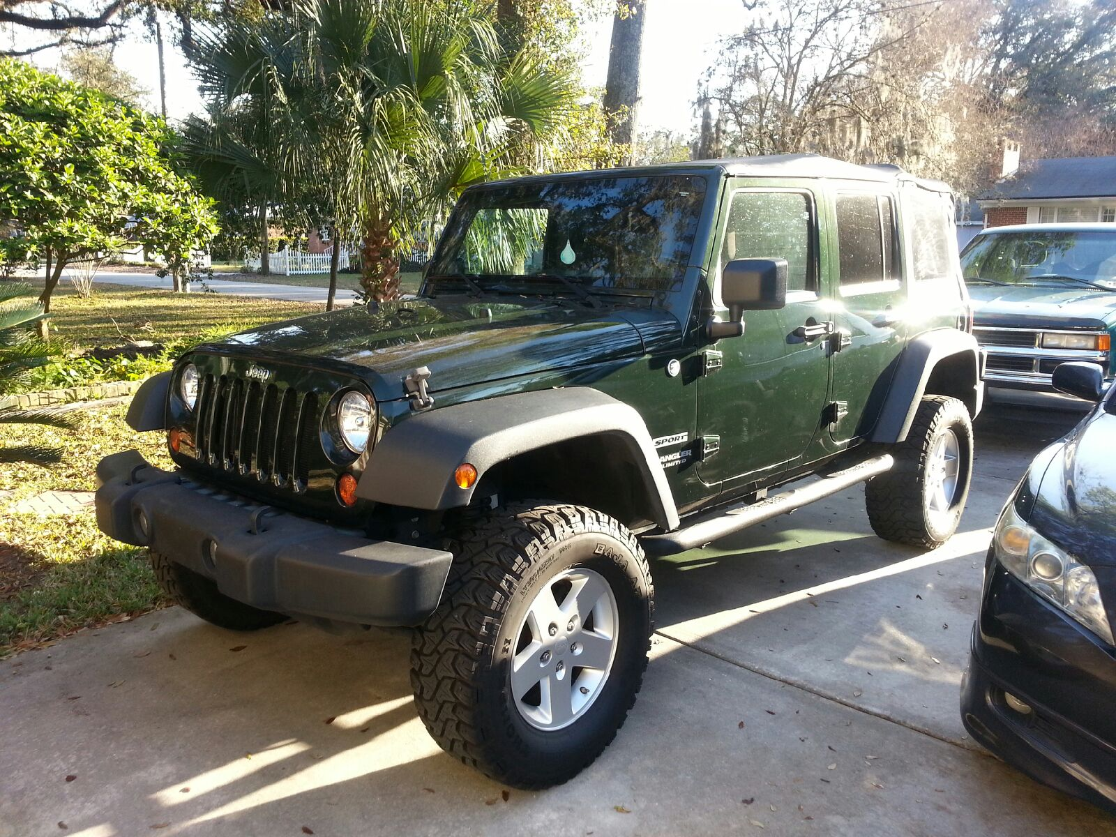 picture of 2010 jeep wrangler unlimited sport 4wd exterior. Cars Review. Best American Auto & Cars Review