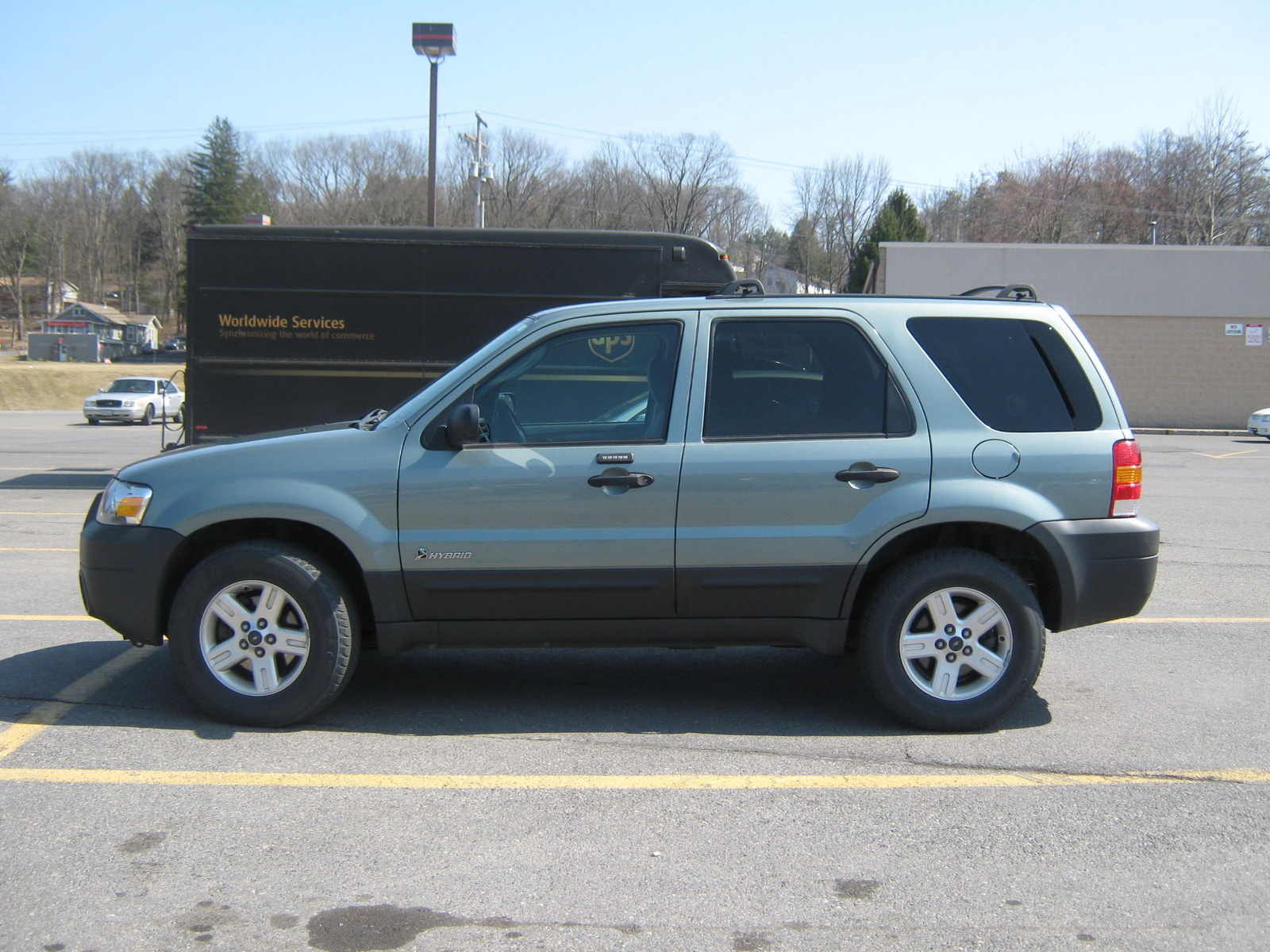 picture of 2005 ford escape hybrid awd exterior. Cars Review. Best American Auto & Cars Review