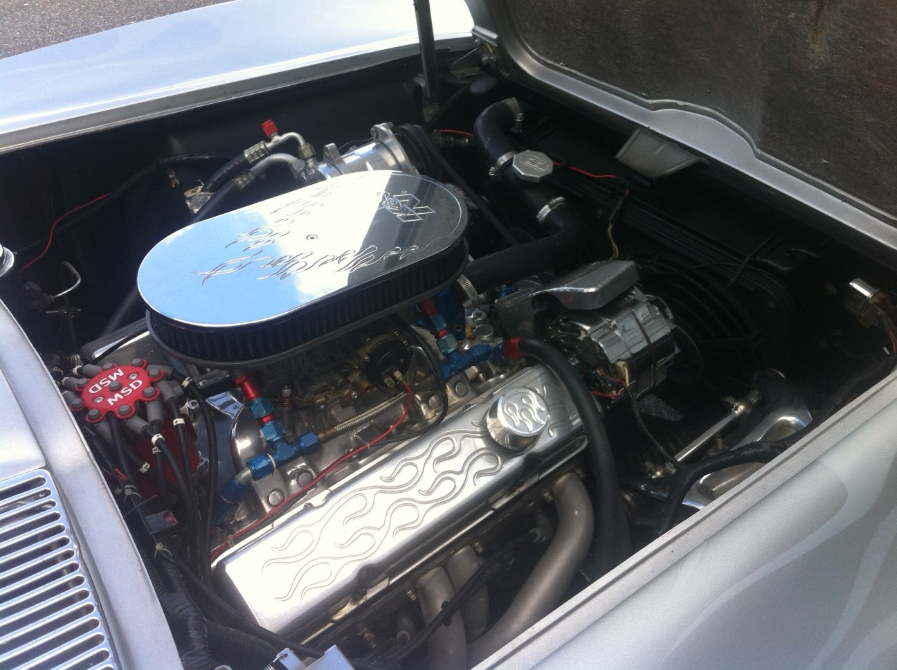 Picture of 1965 Chevrolet Corvette Convertible Roadster, engine