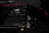 2002 Chevrolet Corvette Convertible, Engine, engine