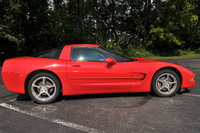 2002 Chevrolet Corvette Convertible, Side View, exterior
