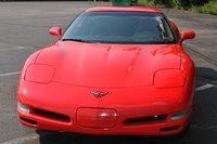 2002 Chevrolet Corvette Convertible, Front, exterior