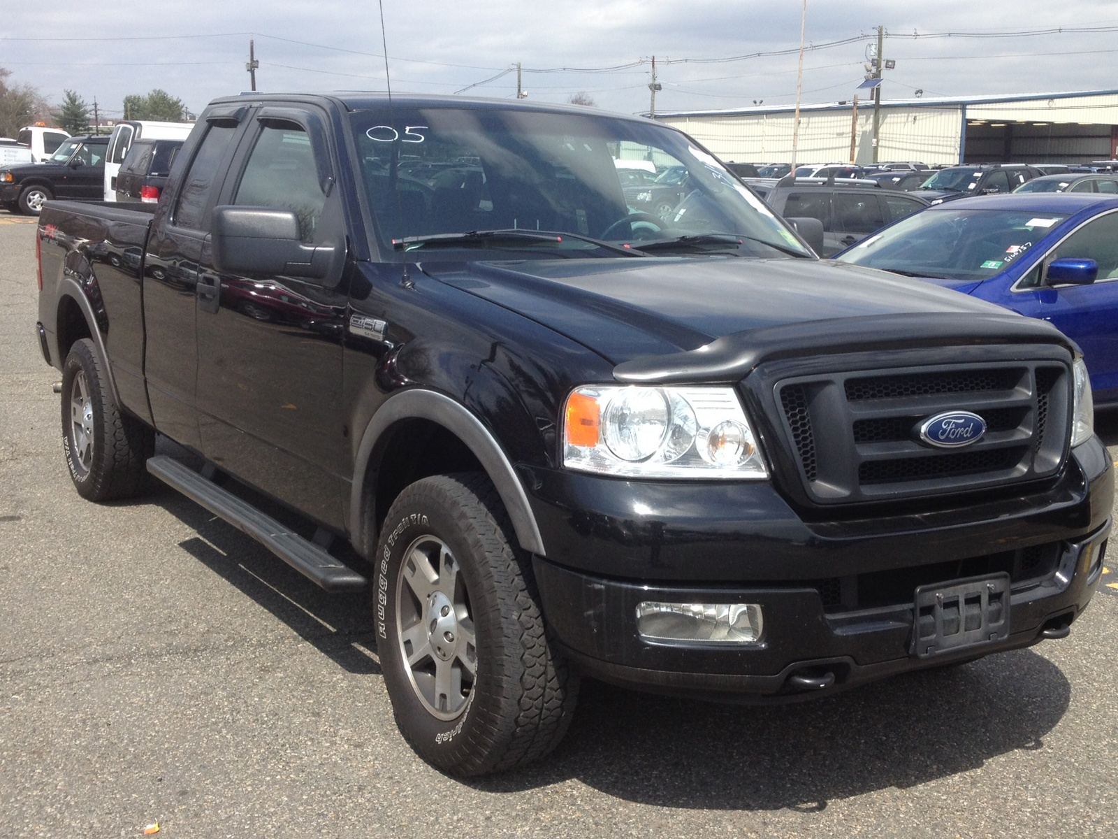 picture of 2005 ford f 150 lariat supercab 4wd exterior. Black Bedroom Furniture Sets. Home Design Ideas