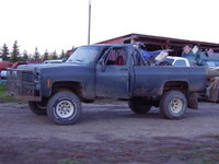 1977 Chevrolet C/K 10, Before the night of hell, exterior