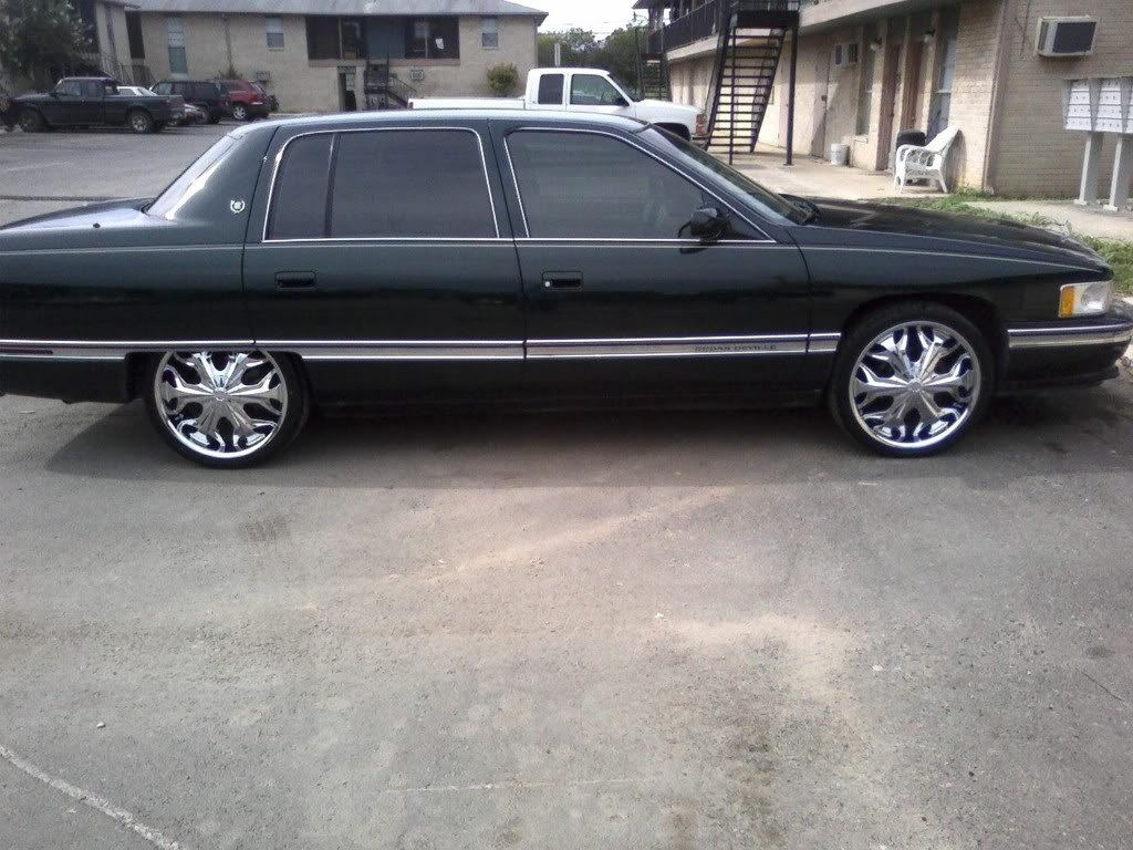 Cadillac Deville Questions Will 24 Inch Rims Fit 0n A 2001