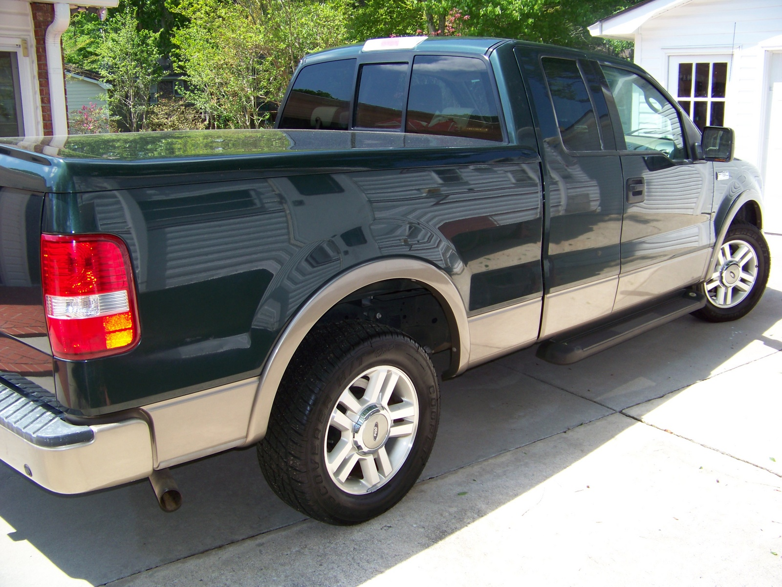 picture of 2004 ford f 150 lariat ext cab exterior. Black Bedroom Furniture Sets. Home Design Ideas