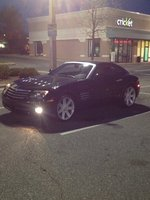 2004 Chrysler Crossfire Base, Night rider, exterior