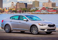 2014 Kia Cadenza, Front-quarter view, exterior, manufacturer, lead_in