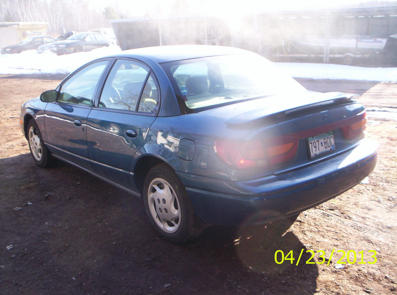 Picture of 2002 Saturn S-Series 4 Dr SL2 Sedan, exterior
