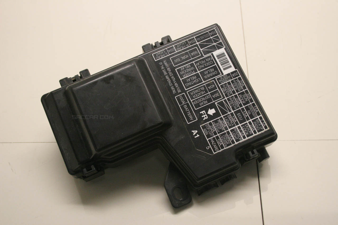 2014 Honda Accord Sport Fuse Box Location Block And Schematic