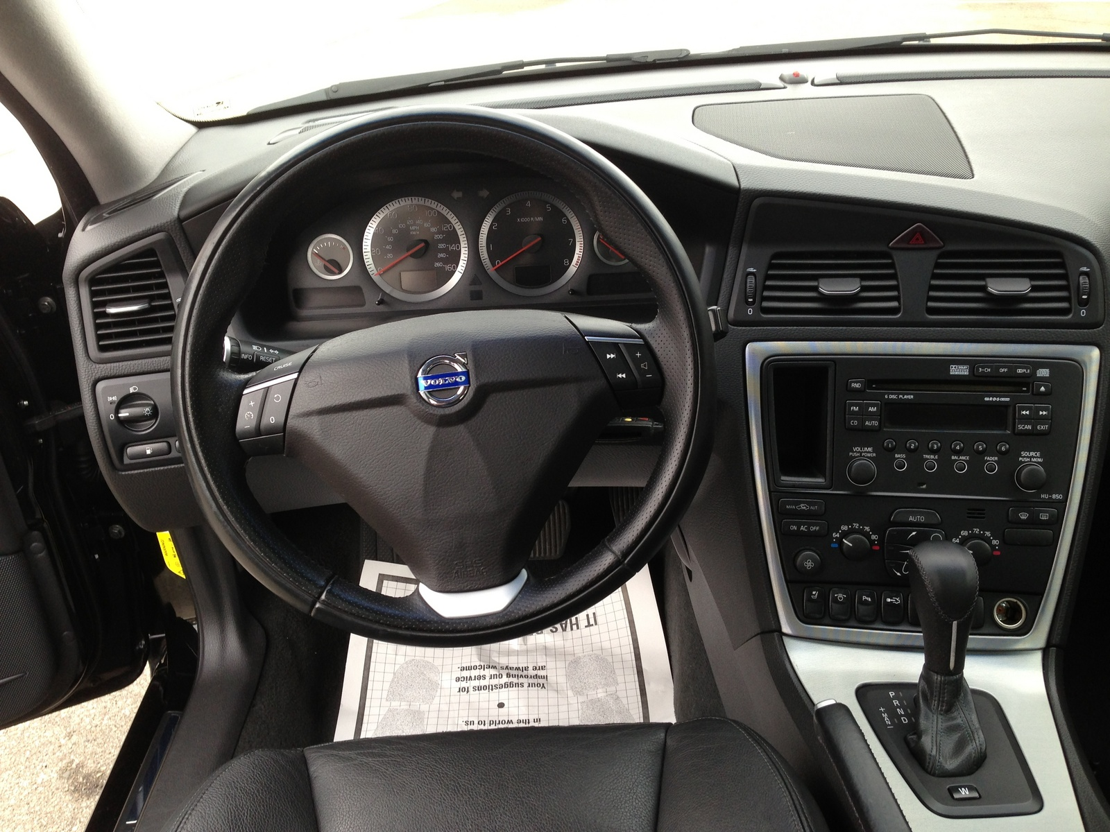 2000 Volvo S60 T5 Automatic Related Infomation Specifications Weili Automotive Network