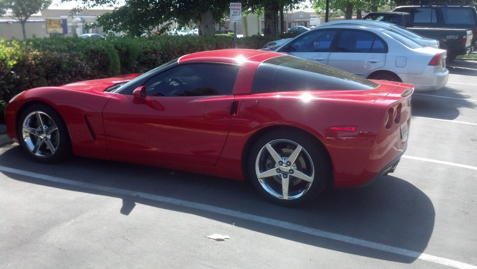 2005 Chevrolet Corvette Coupe, Picture of 2005 Chevrolet Corvette Base, exterior