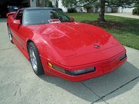 1991 Chevrolet Corvette Coupe, Picture of 1991 Chevrolet Corvette Base, exterior