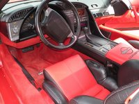 1991 Chevrolet Corvette Coupe, Picture of 1991 Chevrolet Corvette Base, interior