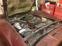 1976 Chevrolet Corvette Coupe picture, engine