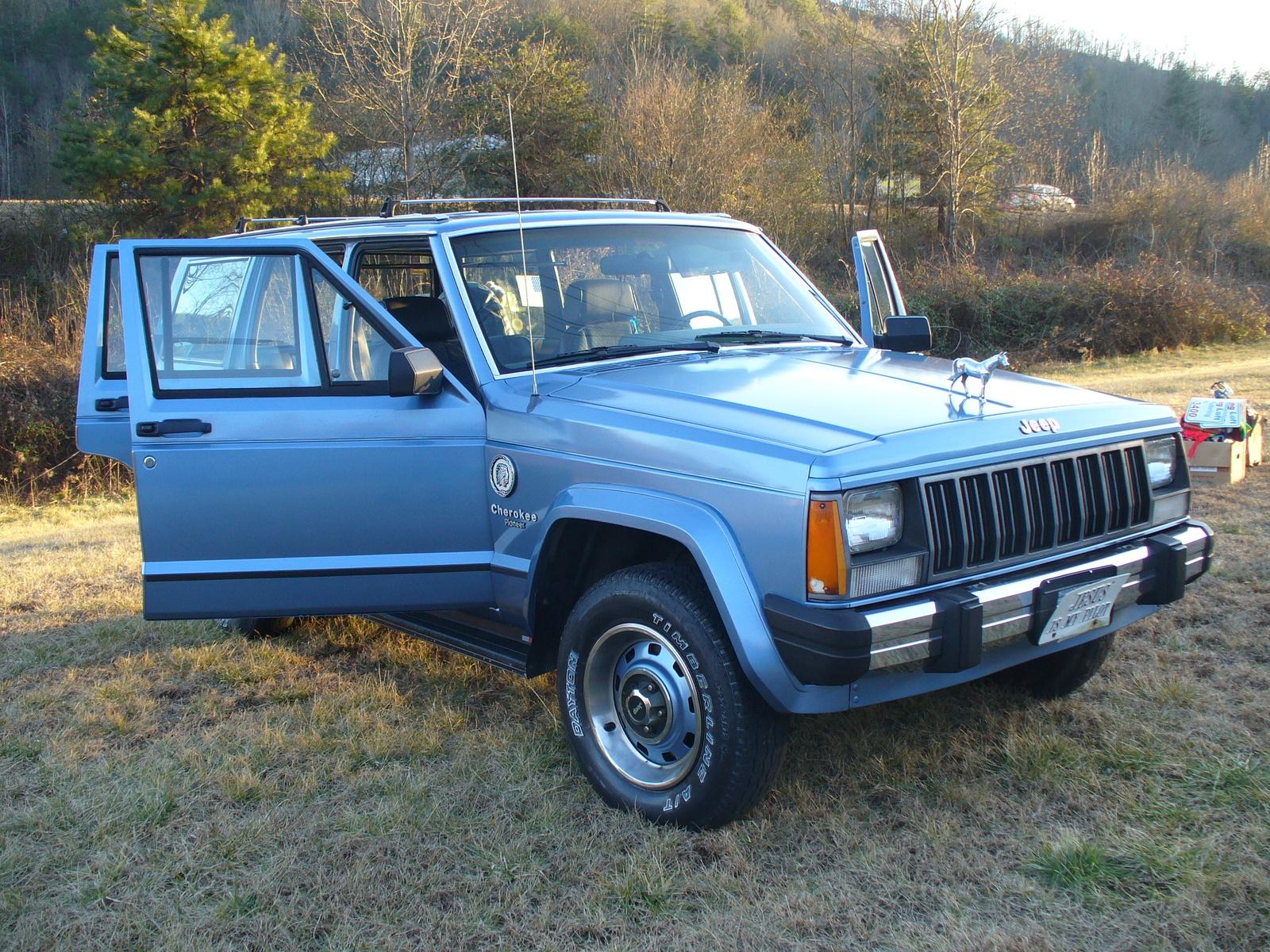1988 Jeep Cherokee Pictures Cargurus