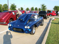 1960 Chevrolet Corvette Coupe, at car show Dallas, This is after I had set up the car to drive it on the street again... notice it has street tires on it at this point., exterior