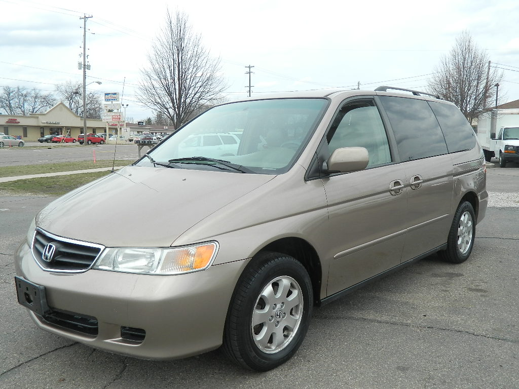 picture of 2003 honda odyssey ex l w dvd exterior. Black Bedroom Furniture Sets. Home Design Ideas