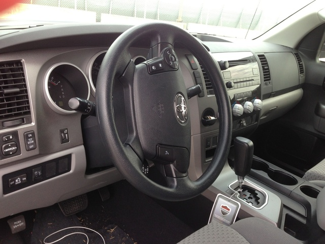 Picture of 2012 Toyota Tundra SR5 CrewMax 5.7L, interior