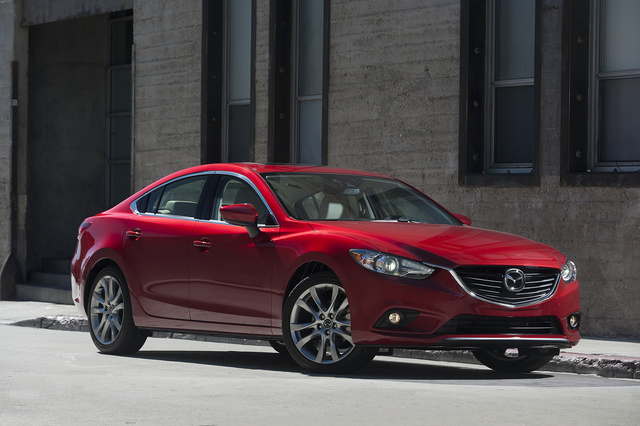 2014 Mazda MAZDA6, Front-quarter view, exterior, manufacturer, gallery_worthy