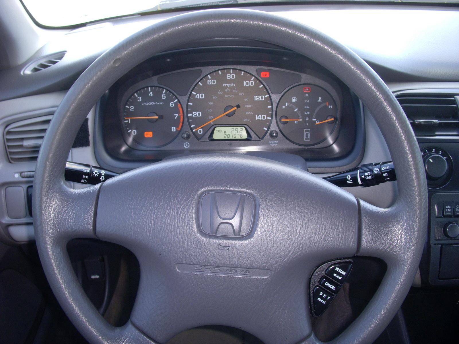 Picture Of 2001 Honda Accord Ex Interior
