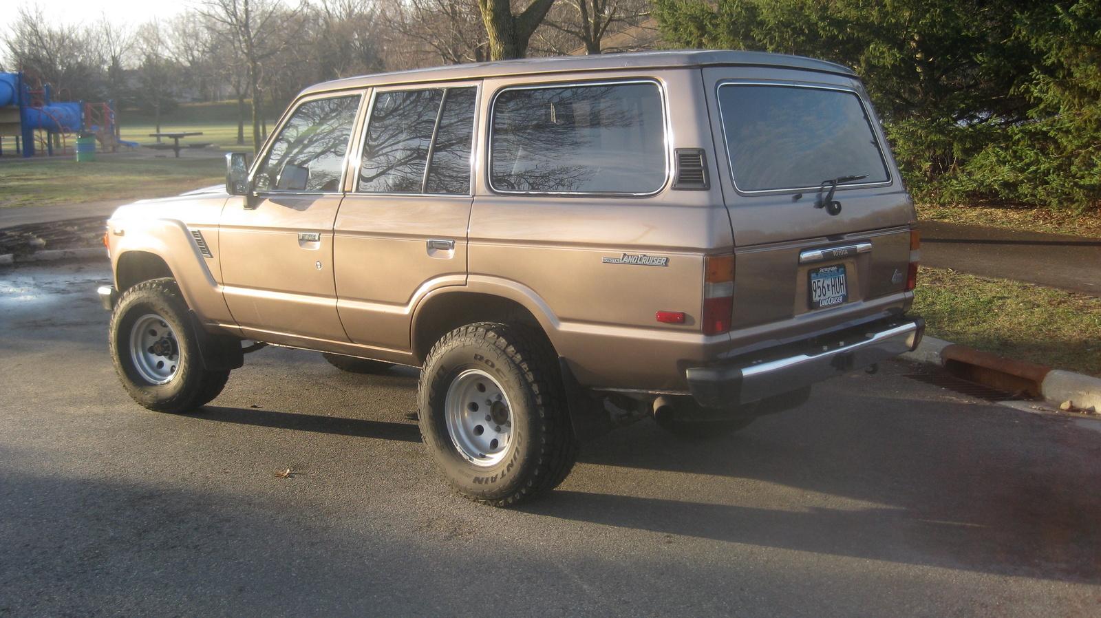 1985 Toyota Land Cruiser Pictures Cargurus