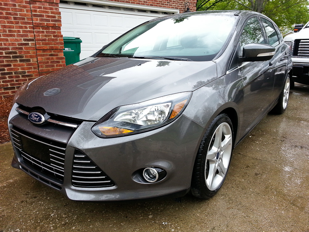 picture of 2013 ford focus titanium hatchback exterior. Cars Review. Best American Auto & Cars Review