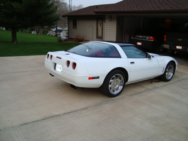 Picture of 1995 Chevrolet Corvette Coupe, exterior