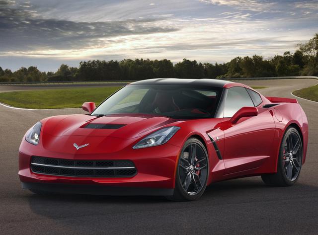 2014 Chevrolet Corvette, Front-quarter view. Copyright General Motors, exterior, manufacturer
