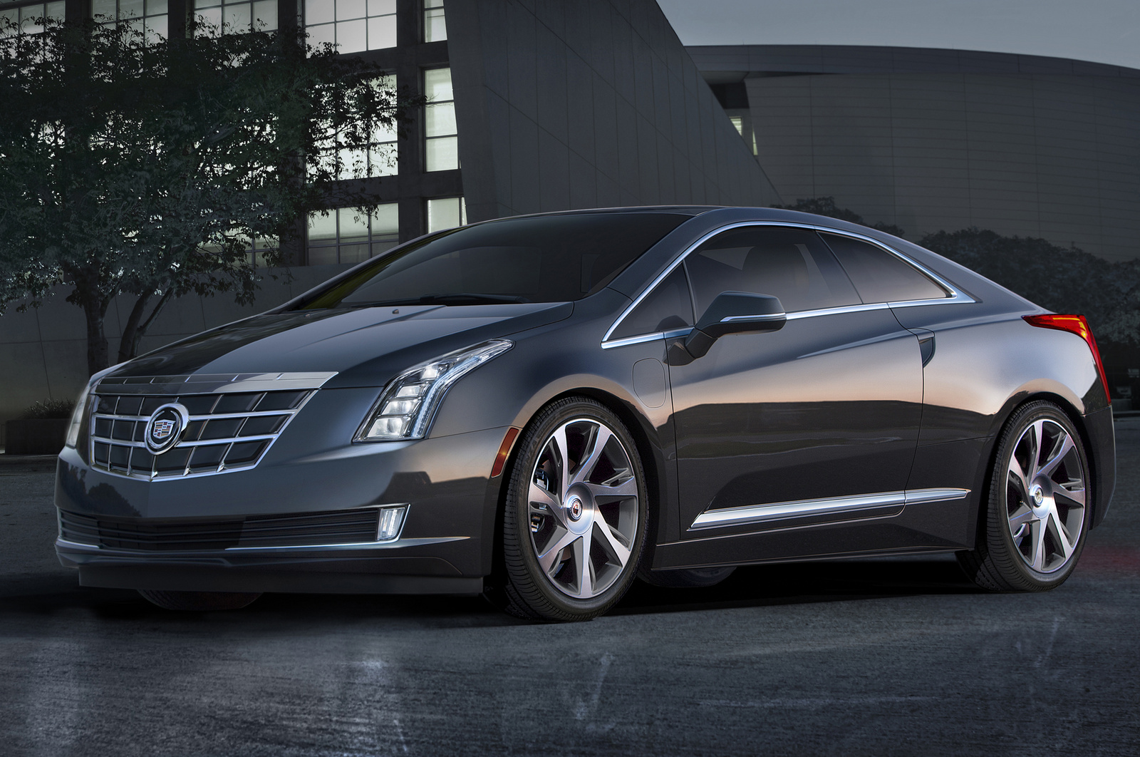 2014 Cadillac ELR, Front-quarter view. Copyright General Motors, manufacturer, exterior