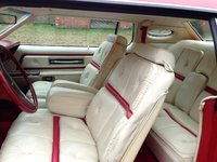 1976 Lincoln Continental Interior, interior